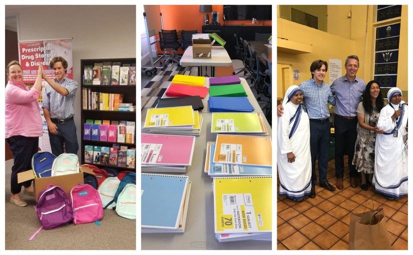 Giving Back – School Supplies